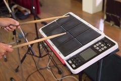 Instrument för musik för vals för elektrisk vals för handelsresandelek digitalt arkivbilder
