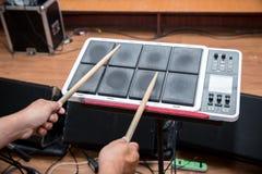 Instrument för musik för vals för elektrisk vals för handelsresandelek digitalt arkivfoto