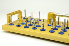 Instrument für zahnmedizinisches implantology Stockfotos