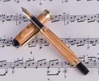Instrument fin d'écriture Images stock
