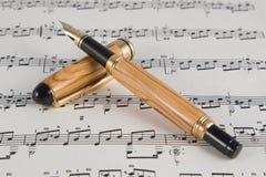 Instrument fin d'écriture Image libre de droits