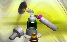 Instrument gynécologique Photos libres de droits