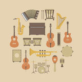 Instrument icon Stock Photo