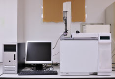 Instrument in a lab Stock Photography