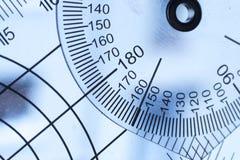 Instrument médical de mouvement de goniomètre photo libre de droits