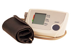 Instrument for measuring blood pressure. Royalty Free Stock Photos