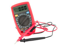 Instrument for measuring the current isolated Royalty Free Stock Photo
