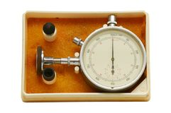 Instrument for measuring speed Royalty Free Stock Photo