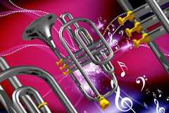 Instrument musical Images libres de droits