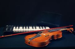 Instrument of musician Royalty Free Stock Photography