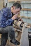 Instrument muzyczny harfy produkcja Fotografia Stock
