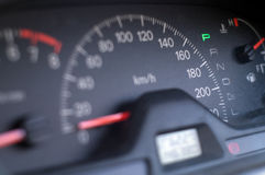 Instrument panel Stock Image