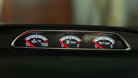 Instrument panel of the car Royalty Free Stock Image