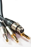 Instrument plugs Royalty Free Stock Images