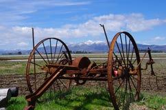 Instrument rouillé de ferme Photo libre de droits