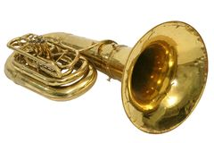 Instrument tuba Royalty Free Stock Photo