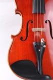 Instrument van de viool het klassieke muziek Stock Afbeelding