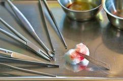 Instrument wound Stock Photos