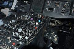 Instrumentação da cabina do piloto do helicóptero foto de stock royalty free