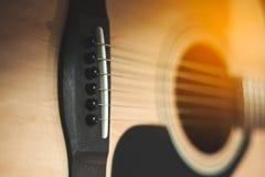 Instrumentale gitaar stock foto