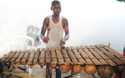 An instrumentalist AFRICAN Stock Images