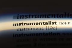 instrumentalista zdjęcie stock