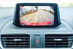 Instrumentbräda Mazda3 2016 Royaltyfri Bild