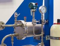 Instrumente für messenden Druck stockfoto