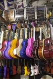 Instrumenten binnen een markt royalty-vrije stock foto