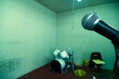 Instrumenten in studio Stock Afbeeldingen