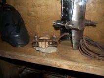 Instrumenten van marteling stock afbeelding