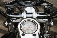 Instrumentenbrett auf dem Fahrrad Lizenzfreie Stockfotos