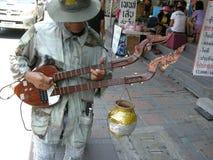 Instrumentista de la guitarra Fotos de archivo