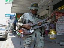 Instrumentista de la guitarra Imagen de archivo