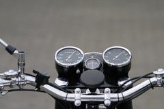 instrumentmotorcykeltappning Royaltyfri Bild