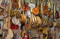instrumentmusik shoppar Royaltyfri Foto