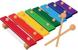 instrumentmusikal Arkivfoto