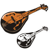 instrumentmusikserie Arkivbilder