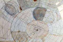 Instrumento astronómico en el observatorio de Jantar Mantar imagenes de archivo