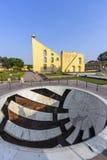 Instrumento astronómico en el observatorio de Jantar Mantar imagen de archivo libre de regalías