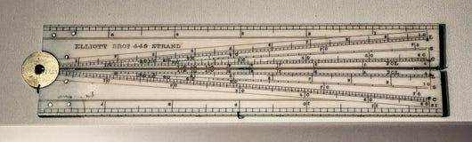 Instrumento calculador histórico llamado un sector Imagen de archivo libre de regalías