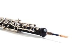 Instrumento da orquestra - oboé fotografia de stock