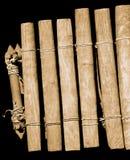 Instrumento de música africano Fotografía de archivo libre de regalías
