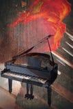 Instrumento de música del Grunge foto de archivo
