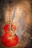 Instrumento de música do Grunge Imagem de Stock