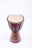 Instrumento de música do ritmo do cilindro de Djembe Imagem de Stock