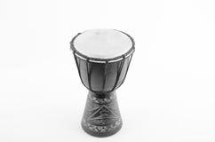 Instrumento de música do ritmo do cilindro de Djembe Foto de Stock Royalty Free