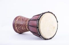 Instrumento de música do ritmo do cilindro de Djembe Fotografia de Stock