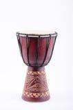 Instrumento de música do ritmo do cilindro de Djembe Imagens de Stock Royalty Free