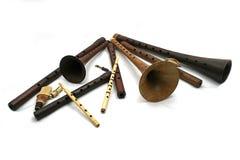 Instrumento de música folk turco Mey, sipsi, zurna Imagens de Stock Royalty Free